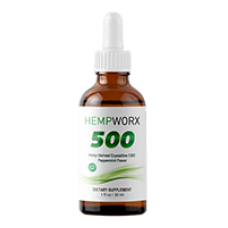Hemp Worx Pack - CBD Oil Natural Flavor (500mg)